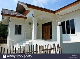 100 Thai Modern House House Bungalow Land Stock Photo 79704282 Alamy