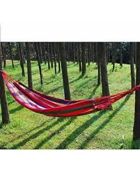 Winter Deals on Sweet Dream Red one Person Hammock Hammock Cotton