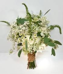 White Rusctic Natural Country Real Calgary Wedding Flower Bridal Bouquet