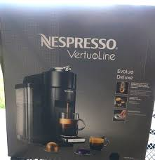 Nespresso VertuoLine Evoluo Deluxe Coffee And Espresso Maker Black 1 Of 8Only Available