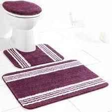 sensino badezimmer garnitur für stand wc 3 tlg plum pako