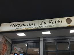 restaurant la perla im schießsport zentrum in der stadt fellbach