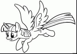 My Little Pony Coloring Pages Twilight Sparkle And Friends 1958795