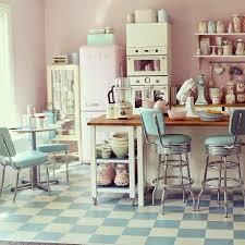 cuisine vintage mcd une cuisine vintage et pastel mon rêve à voir