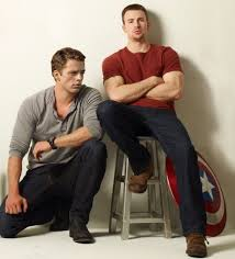 All This Long Drawn Out Chatter Is Simply To Say That My Man Crushes Monday Are On Sebastian Stan And Chris Evans Bucky Cap