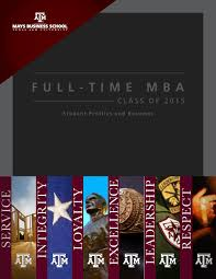 Accounting Help Desk Tamu by Full Time Mba Class Of 2015 By Mays Business Issuu