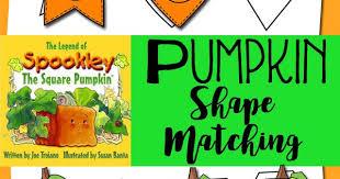 Spookley The Square Pumpkin Book Amazon by Pumpkin Shape Matching Inspired By Spookley The Square Pumpkin