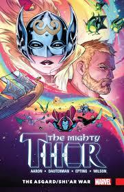 24 The Mighty Thor Asgard Shiar War