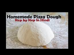 Homemade Pizza Dough Making