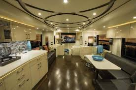RV Hotels 8 Most Expensive Motorhomes In The World 2016 Featherlite Coaches H3
