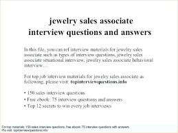 Jewelry Sales Resume Examples Associate Resumes Sample For Best