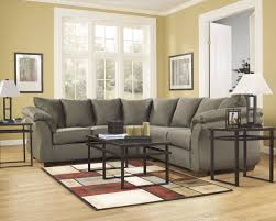 Corduroy Sectional Sofa Ashley decorating chocolate tufted ashley furniture sectional sofa for