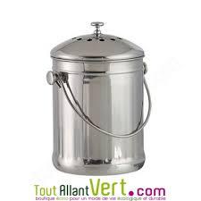 poubelle compost pour cuisine poubelle de cuisine seau tout inox à compost 3 litres achat vente