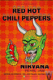 9 RED HOT CHILI PEPPERS NIRVANA PEARL JAM