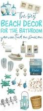 Coastal Bathroom Decor Pinterest by Best 25 Beach Decor Bathroom Ideas On Pinterest Beach Bedroom