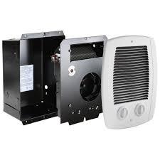 Home Depot Bathroom Exhaust Fan Heater by Cadet Com Pak Bath 1 000 Watt 120 240 Volt In Wall Fan Forced