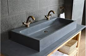 looan grande vasque en granit véritable taillée dans la