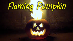 Preserving A Carved Pumpkin by How To Make A Flaming Pumpkin Halloween Jack O Lantern Youtube