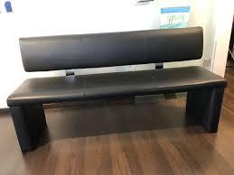 esszimmer sitzbank 160cm mit rückenlehne abmontierbar