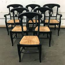 Pottery Barn Dining Chairs Napoleon Set Of 6 Aspect Fit Width Height Classy 2 9 Room Chair Slipcovers
