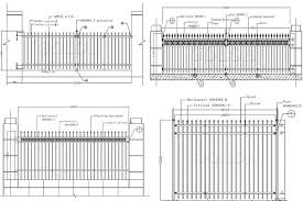 The Drawing Of Anti Climb Fence Installation Including Wholesale Alibaba Garden Decorations Wrought Iron Fence Designs