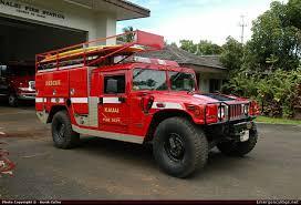 100 Rescue Truck Fire Engine Hanalei Fire Station Kaua Fire Dept