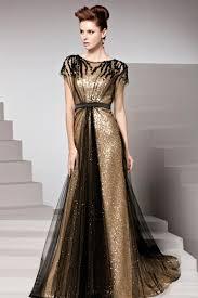 online get cheap dress black gold evening aliexpress com