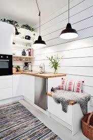 wandfarbe weiß stilvoll und immer modern kleine küche