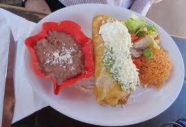 El Patio Mexican Restaurant Mi by Menú Chimichanga Picture Of El Patio De Old Town San Diego