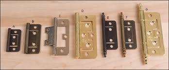 no mortise hinges lee valley tools
