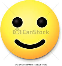 Yellow Laughing Happy Smile Emoji Symbol Vector Illustration