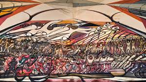 David Alfaro Siqueiros Murales Bellas Artes by Tormento De Cuauhtémoc Y Apoteosis De Cuauhtémoc