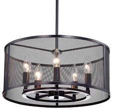 Edvivi Aludra Chandelier Oil Rubbed Bronze View in Your Room