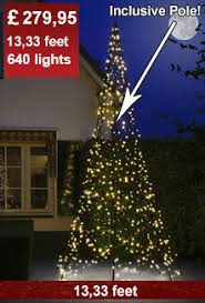 Flagpole Tree LED 4m