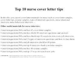 Cover Letter Template Nursing Resume Examples For