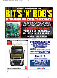 Irish Trucker February 2016 By Lynn Group Media - Issuu The Kirkham Collection Old Intertional Truck Parts Harbour Trucks Inventory For Sale In Langley Bc V1m 0b8 Big Rig Chrome Shop Semi Lighting And Irish Trucker February 2016 By Lynn Group Media Issuu 1974 Intertional Pickup Truck 200 Series Die Cast Promotions Kb5 Tow Waccsories 116 Fuel Tanks Accsories United Inc To Fit Lt Stainless Steel Tapered Roof Light Used 2005 Paystar 5600i Hensack Nj Sixwheel Cventional 50 Similar Items 1965 Harvester Pickup D1100 Bumpers Cluding Freightliner Volvo Peterbilt Kenworth Kw