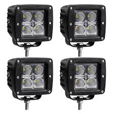 LED Light Bar LEDKINGDOMUS 4Pcs 20W 4inch Flood Cube LED Work Light ... 12w Led Offroad Work Light Truck Tractor Car Fog Auxiliary Are Bed Lighting For Those Who Work From Dawn To Dusk Trucklite 8170 Signalstat Stud Mount 5 Rectangular 2 X Cube 16w Cree Flood Driving Off Road Bar Jeep Buy Now X 6inch 18w Lamp Traxxas Xmaxx Lights Super Bright Easy To Install Youtube Flush Pods Spotflood Offroad Boat Ip67 12v 24v 10w Warning Lights On Vehicle Lighting Ecco Bars Worklamps Cap World