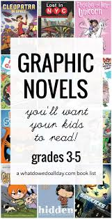 Halloween Picture Books For Third Graders by Fantastic Graphic Novels For Kids 3 5th Grade U2014and Up
