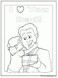 I Love You Mommy And Daddy Coloring Pages