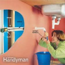 how to clear clogged drains family handyman
