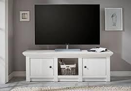 tv lowboard feres in pinie weiss nachbildung 152x51x45cm