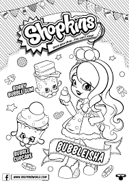 Shopkins Coloring Pages To Print Out And Colour In