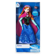 Amazoncom Disney Store Anna Classic Doll With Ring Frozen 11 1