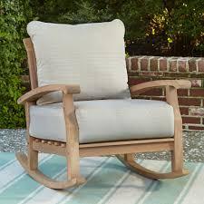 Patio Rocking Chair Teak Wood — Wilson Home Design ...