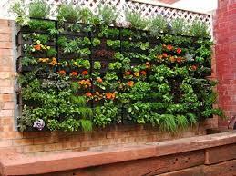 Hanging Pallet Garden Love This Idea