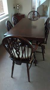 Extendable Dining Table Chairs Drinks Cabinet Dresser Base Cabinets And A Coffee
