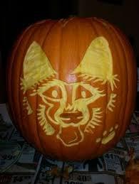 The Walking Dead Pumpkin Stencils Free by German Shepherd Pumpkin Carving Stencil Free Pdf Pattern To