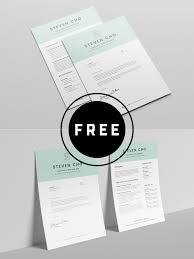 98 Awesome Free Resume Templates For 2019 - Creativetacos Cv Template Professional Curriculum Vitae Minimalist Design Ms Word Cover Letter 1 2 And 3 Page Simple Resume Instant Sample Format Awesome Impressive Resume Cv Mplate With Nice Typography Simple Design Vector Free Minimalistic Clean Ps Ai On Behance Alice In Indd Ai 15 Templates Sleek Minimal 4p Ocane Creative
