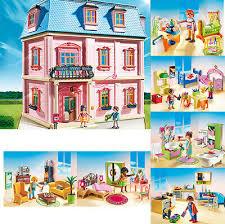 playmobil romantisches puppenhaus zimmer wohnzimmer küche bad kinder baby neu ebay
