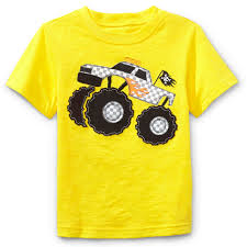 WonderKids Toddler Boy's Short-Sleeve Graphic T-Shirt - Monster Truck Kids Youtube Best Videos Monster Trucks Coloring Pages Free Printable Truck Power Wheels Boys Nickelodeon Blaze 6v Battery Bigfoot Big Foot Toddler And The Navy Tshirt Craft So Fun For Kids Very Simple Kid Blogger Inspirational Vehicles Toddlers Auto Racing Legends Bed Style Beds Pinterest Toddler Toys Learn Shapes Of The Trucks While 3d Car Wash Game Children Cartoon Video 2 Cstruction Street